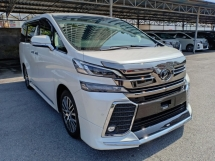 2016 TOYOTA VELLFIRE 2.5 ZG JBL AUDIO HOME THEATER SURROUND CAMERA ROOF MONITOR PRE CRASH PILOT SEAT (A) OFFER UNREG