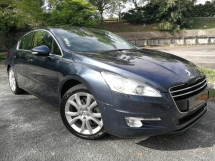 2014 PEUGEOT 508 1.6 (A) PREMIUM FULL SERVICE RECORD HP158 TWIN TURBO CBU MODEL