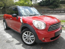 2013 MINI Countryman 1.6 (A) HP120 6SPD LOCAL MODEL
