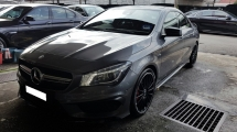 2015 MERCEDES-BENZ CLA CLA45 AMG 2.0 4 MATIC (A) REG MARCH 2016, ONE CAREFUL OWNER, FULL SERVICE RECORD, LOW MILEAGE DONE 28K KM, UNDER WARRANTY UNTIL MARCH 2020