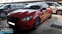2014 MERCEDES-BENZ CLA CLA200 1.6cc (A) REG 2014, ONE CAREFUL OWNER, LOW MILEAGE DONE 21K KM, FULL SERVICE RECORD, FREE 1 YEAR GMR CAR WARRANTY
