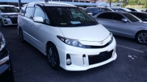 2014 TOYOTA ESTIMA Unregistered (2014/White) Toyota Estima 2.4 Aeras Premium