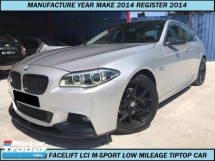 2014 BMW 5 SERIES 520I M SPORT FACELIFT LOCAL SPEC LOW MILEAGE ONE OWNER