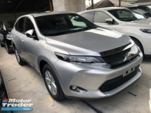 2017 TOYOTA HARRIER 2.0 3ZR-FAE 7-SCVT Panoramic Roof 4 Surround Camera Automatic Power Boot Auto Power Seat Intelligent Bi LED Smart Entry Push Start Button Multi Function Steering 9 Air Bag Unreg