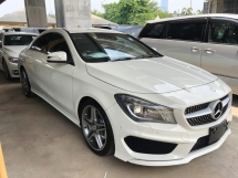 2014 MERCEDES-BENZ CLA CLA250 AMG Edition 2.0 Turbocharged 211hp 7G-DCT 2 Memory Seat Distronic Pre Crash Bi Xenon Multi Function Paddle Shift Steering Reverse Camera Bluetooth Connectivity Unreg