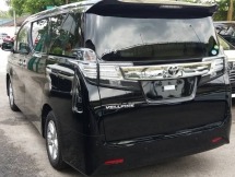 2016 TOYOTA VELLFIRE Unregisterer Toyota Vellfire Welcab (Black/2016)