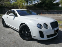 2010 BENTLEY GT CONTINENTAL 6.0 (A) GT SUPERSPORTS HP630