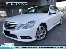 2012 MERCEDES-BENZ E-CLASS E250 CGI AMG LOW MILEAGE ONE LADY OWNER