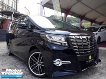 2016 TOYOTA ALPHARD SC 2.5L  EDITION JAPAN SPECK ON SALE!