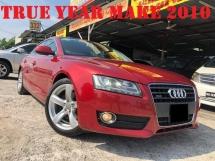 2010 AUDI A5 2.0 TFSI QUATTRO PUSH START ELE SEAT MMI 2