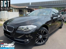2013 BMW 5 SERIES 520I 2.0(A) FACELIFT SPORT TWIN POWER TURBO HIGH SPEC LIKE NEW CAR SHOWROOM ONE OWNER