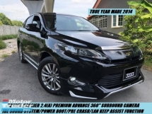 2014 TOYOTA HARRIER PREMIUM ADVANCE LIMITED * FULL SPEC NICE COUPLE PLATE 3223