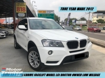 2012 BMW X3 X DRIVE 20I 1OWNER LOCAL SPEC UNDER AUTO BAVARIA TIP TOP CONDITION