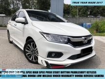 2017 HONDA CITY  1.5 V FULL SPEC SPORT LIMITED EDITION TIP TOP CONDITION LOW MILEAGE UNDER WARRANTY