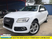 2013 AUDI Q5 2.0 TFSI 1 LADY OWNER ORI PAINT TIPTOP CONDITION FACELIFT MODEL 1 YEAR WARRANTY