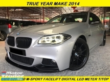 2014 BMW 5 SERIES 520I M-SPORT FULL SERVICE LCI MODEL FACELIFT 40KM ORIGINAL MILEAGE FULLY DIGITAL METER