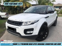 2012 LAND ROVER RANGE ROVER EVOQUE Local Full Spec Low Mileage
