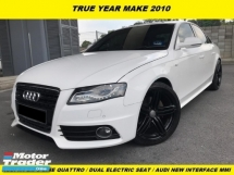 2010 AUDI A4 1.8 TFSI S-LINE QUATTRO SOUND SYSTEM ORIGINAL CAR CONDITION TIP TOP ACCIDENT FREE