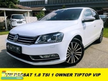 2014 VOLKSWAGEN PASSAT 1.8 TSI SUPER TIP TOP CONDITION ONE HOUSEWIFE OWNER ACCIDENT FREE