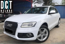 2013 AUDI Q5 2.0 TFSI Quattro SUV FACELIFT P/BOOT P/START K/LESSS 8 SPEED TIP TOP ONE MALAY LADY OWNER