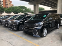 2015 TOYOTA VELLFIRE 2.5 ZA Edition 4 Surround Camera 7 Seat Automatic Power Boot 2 Power Door Intelligent Bi LED Smart Entry Push Start 3 Zone Climate Auto Cruise Multi Function Steering Bluetooth Connectivity 9 Air Bag Unreg