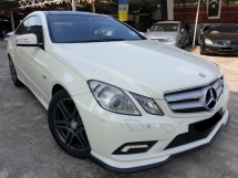 2010 MERCEDES-BENZ E-CLASS E250 CGI COUPE AMG SPEC PANOMARIC ROOF