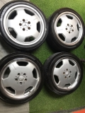 Mercedes Benz Monoblock sports rim 17 inch original  Rims & Tires