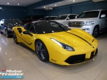 2016 FERRARI 488 GTB Spider 3.9 V8 Carbon Fibre Spec* 4 Cam, JBL, Retractable Hard Top, I.P.E Exhaust, Ceramic Disc Brake
