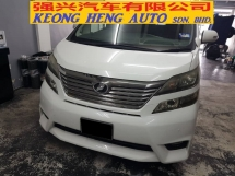 2010 TOYOTA VELLFIRE 2.4 Z PLATINUM (ACTUAL YR MADE 2010)(REG 2013)