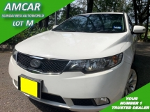 2010 KIA FORTE 1.6 SX (A) PUSH START 1 OWNER LOW MILEAGE