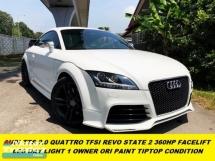 2014 AUDI TTS 2.0 FACELIFT QUATTRO REVO STATE 2 360HP NICE NUMBER 13