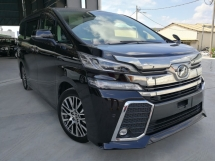 2015 TOYOTA VELLFIRE 2.5ZG FULL ALPINE SET PRECRASH UNREG