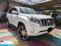 2014 TOYOTA LAND CRUISER Toyota LANDCRUISER PRADO TX 2.7 4WD LEATHER S/ROOF