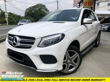 2015 MERCEDES-BENZ GLE GLE 250D UNDER WARRANTY FULL SERVICE RECORD PREMIUM HIGH SPEC