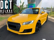 2016 AUDI TT 2.0 TFSI Local Spec Low Mileage Under Warranty