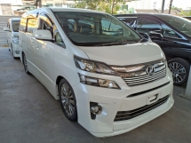 2014 TOYOTA VELLFIRE 2.4 Z GOLDEN EYES II SUNROOF HOME THEATER ROOF MONITOR (A) OFFER UNREG