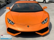 2014 LAMBORGHINI HURACAN Lp610 local ap local duties ori low mileage from uk