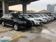 2017 TOYOTA HARRIER 2.0 3ZR-FAE Valvematic 7-SCVT 4 Surround Camera Automatic Power Boot Auto Power Seat Intelligent Bi LED Smart Entry Push Start Button Multi Function Steering 9 Air Bag Unreg