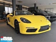 2018 PORSCHE 718 Boxster S 2.5 Turbo Porsche UK Pre Owned Mega Spec