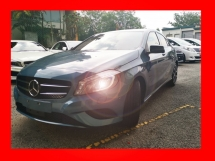 2014 MERCEDES-BENZ A-CLASS A180 EXCLUSIVE NIGHT EDITION UNREG - RARE COLOR -