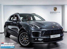 2018 PORSCHE MACAN 2.0 Facelift Porsche UK Approved Pre Owned LED Chrono