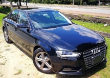 2014 AUDI A4 2014 AUDI A4 2.0 TFSI FACELIFT JAPAN SPEC SELLING PRICE RM 118,000.00  ( CAR BODY - BLUE 90802 )