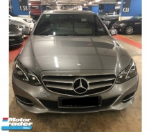 2013 MERCEDES-BENZ E-CLASS E200 CGI FACELIFT 2.0 T GUARANTEE ORIGINAL 79K KM FULL SERVICE RECORD