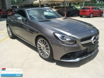 2017 MERCEDES-BENZ SL-CLASS SLC300 2.0 cc AMG GREY EDITION NEW MODEL PADDLE SHIFT WITH MULTI FUNCTION SMG STEERING AMG BODYKIT