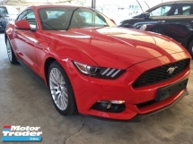 2016 FORD MUSTANG 2.3 ECO BOOTS 2 ELECTRIC BUCKET SPORT SEATS REVERSE CAMERA TIO TOP CONDITION