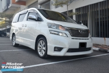 2009 TOYOTA VELLFIRE 3.5 (A) Z PLATINUM - LUXURY WITH HOME THEATER SYSTEM ( REGISTERED 2012 )
