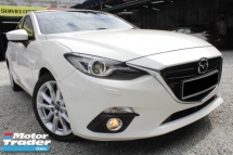 2015 MAZDA 3 Mazda 3 2.0 F/SPEC LEATHER PStart P/Shift HUD 2015