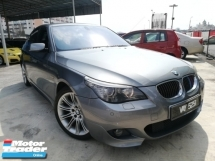 2009 BMW 5 SERIES 525I M-SPORTS E60 I-DRIVE TIP-TOP FACELIFT
