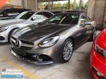 2017 MERCEDES-BENZ SL SLC200 SLC300 AMG Sport 2.0 Turbocharged 242hp 9G-Tronic Panoramic Roof Multi Function Paddle Shift Steering Bucket Seat Dual Zone Climate Control Bluetooth Connectivity Unreg