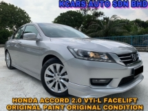 2015 HONDA ACCORD 2.0 VTI-L ORIGINAL CONDITION FACELIFT MODEL